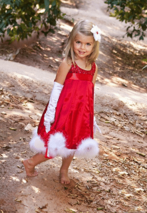 Retail The Christmas party dress for the girl Bright red belt ...: Retail The Christmas party dress for the girl Bright red belt ...