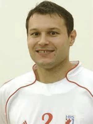 """Retired Croatian handball player, World champion from 2003 with the Croatian national team, after a tight Croatia vs Germany win euphorically jokes with winning team players: """"Guys, I know you like women, but I would like to blow all of you right now."""": Retired Croatian handball player, World champion from 2003 with the Croatian national team, after a tight Croatia vs Germany win euphorically jokes with winning team players: """"Guys, I know you like women, but I would like to blow all of you right now."""""""