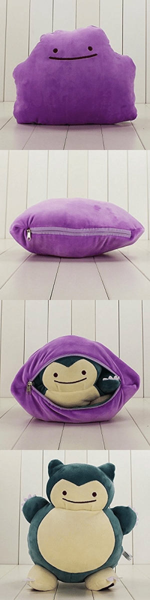 Pokemon, Tumblr, and Blog: retrogamingblog:  Transforming Ditto Plush from the Pokemon Center