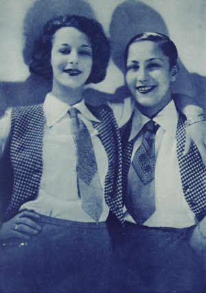 Club, Target, and Tumblr: retrolesbians:  Berlin, 1928  After WW1, the gay club scene in Berlin began to flourish and the number of lesbian bars and cafés exploded. By the mid-20s there were over 50 of them in the city.