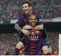 "Memes, Reuters, and 🤖: Reuters  ATAR  AIRWAYS DaniAlves: ""When we retire, they will say: 'Who has been the greatest in Football? Messi , And who gave him the most assists? Dani"