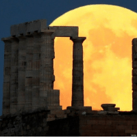 "Skywatchers have been treated to the longest ""blood moon"" eclipse of the 21st Century. Click the link in our bio to find out more about this. Share your pics or videos with us using bbcmoonpics and we'll use as many as we can in our posts. PHOTO 1: The Moon rises behind the Temple of Poseidon, near Athens REUTERS-Alkis Konstantinidis PHOTO 2: The ""blood moon"" over Cairo REUTERS-Amr Abdallah Dalsh PHOTO 3 EPA: Behind the Saentis (2502m) Alpstein in Switzerland EPA-Christian Merz bloodmoon lunareclipse moon fullmoon eclipse nature bbcnews: REUTERS Skywatchers have been treated to the longest ""blood moon"" eclipse of the 21st Century. Click the link in our bio to find out more about this. Share your pics or videos with us using bbcmoonpics and we'll use as many as we can in our posts. PHOTO 1: The Moon rises behind the Temple of Poseidon, near Athens REUTERS-Alkis Konstantinidis PHOTO 2: The ""blood moon"" over Cairo REUTERS-Amr Abdallah Dalsh PHOTO 3 EPA: Behind the Saentis (2502m) Alpstein in Switzerland EPA-Christian Merz bloodmoon lunareclipse moon fullmoon eclipse nature bbcnews"
