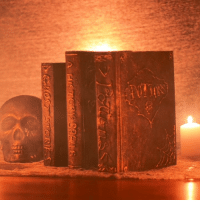 Revamp old books with a Halloween twist!: Revamp old books with a Halloween twist!