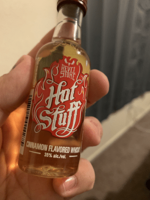 Cheers! 🍻: REVEL  STORE  Hot  Hat  Sii  CINNAMON FLAVORED WHISK  35% alc./vol. Cheers! 🍻