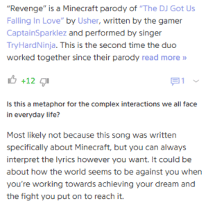Revenge Is a Minecraft Parody of the DJ Got Us Falling in ...