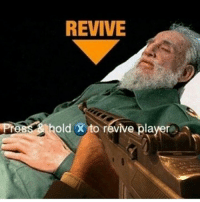 Castro > Kennedy -normin: REVIVE  hold X to revive player Castro > Kennedy -normin