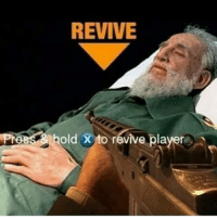 REVIVE  hold X to revive player Revive