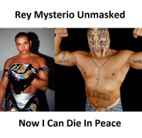 mysterio: Rey Mysterio Unmasked  Now I Can Die In Peace