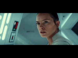 Rey speaks in an english in the Star Wars movies because Daisy Ridley, the actress who plays her, is from England.: Rey speaks in an english in the Star Wars movies because Daisy Ridley, the actress who plays her, is from England.