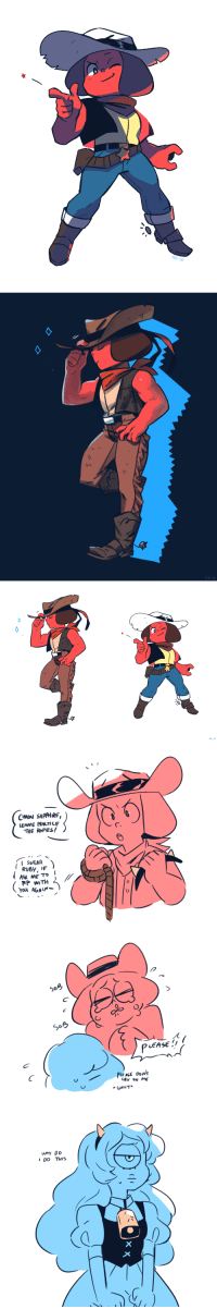 Target, Tumblr, and Blog: RH-SE   RH-SE   CMON SAPPHIRE  LEMME PRACTI LE  THE ROPES!  ISWEAR  RP WITH  LEASE  IDO THIS rh-se:  posting multiple versions because i liked the flats a lot