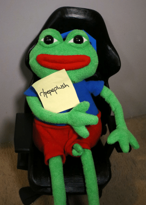 Friends, Link, and Pepe: rhepaplush Howdy friends, r/pepeplush is a new sub to share glamour shots of your favorite frog in plush form. Come join us. (Link in comments!)