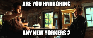 Rhode Islanders: Are you harboring any New Yorkers?: Rhode Islanders: Are you harboring any New Yorkers?