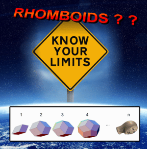 Safe, Stay, and  Know: RHOMBOIDS??  KNOW  YOUR  LIMITS Stay safe Frens
