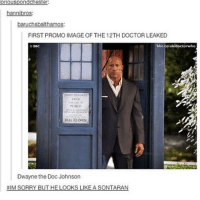 Doctor, Memes, and Image: ri  hannibros  baruchsbalthamos:  FIRST PROMO IMAGE OF THE 12TH DOCTOR LEAKED  bbc.co.ukldoctorwho  EREF  PULL TO OPEN  Dwayne the Doc Johnson Last one! Night y'all! doctorwhotuesday doctorwho dw bbc whovian whovians whoviansunite whoviansarecool thedoctor dwaynejohnson dwaynetherockjohnson thetwelfthdoctor twelfthdoctor