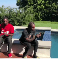 Birthday, Watch, and Kid: Rich The Kid hooked Famous Dex up with a new watch for his birthday! 👍💯 @RichTheKid @FamousDex https://t.co/ZKuMlCMHjw