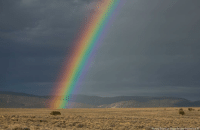 Memes, Las Vegas, and Las Vegas: Richard Brian/Las Vegas Review-Journal. via A A rainbow appears in front of the Humboldt mountain range, as seen from the Great Basin Highway in Nevada, on Sunday.