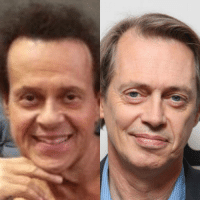 Richard Simmons is just Steve Buscemi with a perm.: Richard Simmons is just Steve Buscemi with a perm.