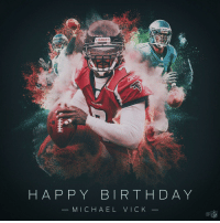 Join us in wishing @MichaelVick a HAPPY 38th BIRTHDAY! https://t.co/MvwGAeWhpo: Riddell  HAP PY BIRTHDAY  MICHAEL VICK Join us in wishing @MichaelVick a HAPPY 38th BIRTHDAY! https://t.co/MvwGAeWhpo