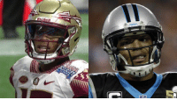 Cam Newton also plays for Florida State. https://t.co/knyHNmAkWx: Riddell  PANTHEPS  CA Cam Newton also plays for Florida State. https://t.co/knyHNmAkWx
