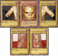 """Funny, Ceelo, and Arms: RIGHT ARM OF THE FORBIDDEN ONE  SPELLCASTER  ATK 2  DEFI 300  SPELECASTER  EXODIA THE FORBIDDEN ON  LEFT ARM OF THE FORBIDDEN ON  SPILLCASTER/EHECTJ  SPELLCASTERJ  Forbidden One', 'Right Arm or the feebidden one' and  """"Irft Arm of the Foebil addition to this card in  your hand you eir The Duel  ATK 200 DEFI 300  ATK /1000 DEF/I000  LEFT LEG THE FORBIDDEN ONE  LSPELLCASTER1  ATK 200 DEFI 300  ATK 200 DEFI 300 CeeLo the Forbidden Artist"""