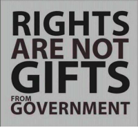Thanks to the Libertarian Party of Florida for this post! To get involved locally, go to lp.org/states!: RIGHTS  ARE NOT  GIFTS  GOVERNMENT Thanks to the Libertarian Party of Florida for this post! To get involved locally, go to lp.org/states!