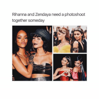 They are so pretty 💋: Rihanna and Zendaya need a photoshoot  together someday They are so pretty 💋