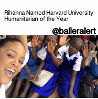 "Rihanna Named Harvard University Humanitarian of the Year - blogged by: @msjennyb ⠀⠀⠀⠀⠀⠀⠀⠀⠀ ⠀⠀⠀⠀⠀⠀⠀⠀⠀ That Rihanna reign just won't let up! ⠀⠀⠀⠀⠀⠀⠀⠀⠀ ⠀⠀⠀⠀⠀⠀⠀⠀⠀ In 2016, Rihanna dropped her eighth studio album, which peaked at number one on the US Billboard 200. She was featured on several singles, honored with the MTV Video Vanguard Award, and in 2017 claimed her 30th Top 10 hit. In addition to the music, Rihanna has launched a global scholarship program through her Clara Lionel Foundation to improve and promote health, education, arts and culture. ⠀⠀⠀⠀⠀⠀⠀⠀⠀ ⠀⠀⠀⠀⠀⠀⠀⠀⠀ With all that the Bajan songstress accomplished in the last year, it appears 2017 will be just as big for the superstar. ⠀⠀⠀⠀⠀⠀⠀⠀⠀ ⠀⠀⠀⠀⠀⠀⠀⠀⠀ In the midst of filming for the all-female installment of the ""Ocean's Eleven"" franchise, Rihanna has traveled to Malawi to promote similar values of her foundation, which she founded to honor her grandparents. As the ambassador for GlobalCitizen and the Global Partnership for Education, Rihanna has worked to provide children across the globe with access to education. ⠀⠀⠀⠀⠀⠀⠀⠀⠀ ⠀⠀⠀⠀⠀⠀⠀⠀⠀ As a result of the singer's charitable efforts, Rihanna has been named HarvardUniversity's Humanitarian of the Year for 2017. She is set to accept the Peter J. Gomes Humanitarian Award next week at the school. ⠀⠀⠀⠀⠀⠀⠀⠀⠀ ⠀⠀⠀⠀⠀⠀⠀⠀⠀ ""Rihanna has charitably built a state-of-the-art center for oncology and nuclear medicine to diagnose and treat breast cancer at the Queen Elizabeth Hospital in Bridgetown, Barbados,"" S. Allen Counter of the Harvard Foundation said. ⠀⠀⠀⠀⠀⠀⠀⠀⠀ ⠀⠀⠀⠀⠀⠀⠀⠀⠀ Congrats to Rihanna!: Rihanna Named Harvard University  Humanitarian of the Year  @balleralert Rihanna Named Harvard University Humanitarian of the Year - blogged by: @msjennyb ⠀⠀⠀⠀⠀⠀⠀⠀⠀ ⠀⠀⠀⠀⠀⠀⠀⠀⠀ That Rihanna reign just won't let up! ⠀⠀⠀⠀⠀⠀⠀⠀⠀ ⠀⠀⠀⠀⠀⠀⠀⠀⠀ In 2016, Rihanna dropped her eighth studio album, which peaked at number one on the US Billboard 200. She was featured on several singles, honored with the MTV Video Vanguard Award, and in 2017 claimed her 30th Top 10 hit. In addition to the music, Rihanna has launched a global scholarship program through her Clara Lionel Foundation to improve and promote health, education, arts and culture. ⠀⠀⠀⠀⠀⠀⠀⠀⠀ ⠀⠀⠀⠀⠀⠀⠀⠀⠀ With all that the Bajan songstress accomplished in the last year, it appears 2017 will be just as big for the superstar. ⠀⠀⠀⠀⠀⠀⠀⠀⠀ ⠀⠀⠀⠀⠀⠀⠀⠀⠀ In the midst of filming for the all-female installment of the ""Ocean's Eleven"" franchise, Rihanna has traveled to Malawi to promote similar values of her foundation, which she founded to honor her grandparents. As the ambassador for GlobalCitizen and the Global Partnership for Education, Rihanna has worked to provide children across the globe with access to education. ⠀⠀⠀⠀⠀⠀⠀⠀⠀ ⠀⠀⠀⠀⠀⠀⠀⠀⠀ As a result of the singer's charitable efforts, Rihanna has been named HarvardUniversity's Humanitarian of the Year for 2017. She is set to accept the Peter J. Gomes Humanitarian Award next week at the school. ⠀⠀⠀⠀⠀⠀⠀⠀⠀ ⠀⠀⠀⠀⠀⠀⠀⠀⠀ ""Rihanna has charitably built a state-of-the-art center for oncology and nuclear medicine to diagnose and treat breast cancer at the Queen Elizabeth Hospital in Bridgetown, Barbados,"" S. Allen Counter of the Harvard Foundation said. ⠀⠀⠀⠀⠀⠀⠀⠀⠀ ⠀⠀⠀⠀⠀⠀⠀⠀⠀ Congrats to Rihanna!"