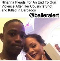"""Christmas, Family, and Instagram: Rihanna Pleads For An End To Gun  Violence After Her Cousin Is Shot  and Killed In Barbados  @balleralert Rihanna's Cousin Shot and Killed in Barbados, Singer Pleads To End Gun Violence- blogged by @MsJennyb ⠀⠀⠀⠀⠀⠀⠀ ⠀⠀⠀⠀⠀⠀⠀ On Tuesday, Rihanna's cousin, Tavon Kaiseen Alleyne was shot and killed in the St. Michael's area of Barbados. Just one day after the two spent the day together on Christmas, Alleyne was shot several times, prompting the Bajan superstar's plea to end gun violence. ⠀⠀⠀⠀⠀⠀⠀ ⠀⠀⠀⠀⠀⠀⠀ """"RIP cousin... can't believe it was just last night that I held you in my arms! Never thought that would be the last time I felt the warmth in your body!!! Love you always man!"""" Rihanna wrote on Instagram. """" endgunviolence."""" ⠀⠀⠀⠀⠀⠀⠀ ⠀⠀⠀⠀⠀⠀⠀ According to reports, the incident occurred around 7 p.m. when Alleyne was approached by a man, as he walked near his home. The man shot Alleyne multiple times and fled the scene. Alleyne was then transported to a local hospital, where he was later pronounced dead. Since then, officials have launched an investigation into the shooting. Our prayers and condolences to Rihanna and her family! ⠀⠀⠀⠀⠀⠀⠀ ⠀⠀⠀⠀⠀⠀⠀"""