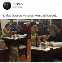 Memes, Appreciate, and 🤖: @Riivee2  En las buenas y malas. Amigas foreveL.  27 Post 1244: send this to someone you'd do this for - A reminder that the @kalesalad comments are a positive fun supportive place and we appreciate keeping the comments that way!!!!