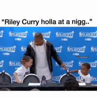 """Basketball, Nba, and Riley Curry: """"Riley Curry holla at a nigg..""""  FS PLAYOFFS PLAYOFFS  (a NBA  @NBA  PLAYOFFS  FFS  (a NBA  @NBA  GeNBAMEMES  PLAYOn  YOFFS  FF  PL 😂😂😂 (via noLove_moreLOUD-Twitter) nba nbamemes IT isaiahthomas curry"""