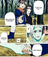 obito: RIN WON'T EVEN  LOOK AT YOU  NOW  OBITO CHIHA IS THE  ONE SHE WANTED TO  WATCH OVER.  Chinatahivuoa  ..LET'S PUT AN  END TO THIS  TAP  OBITO UCHIHA!