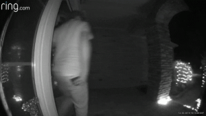 Glitch In Doorbell Cam Makes It Look Like Man Gets Abducted By Aliens: ring.com  12262019191439 CST Glitch In Doorbell Cam Makes It Look Like Man Gets Abducted By Aliens