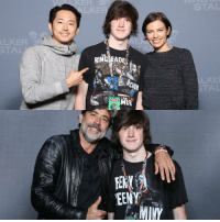 I met Katelyn, Christian, and Michael Cudlitz also but these are my favorite😩: RING EADEM  MUR  EENY  MINY I met Katelyn, Christian, and Michael Cudlitz also but these are my favorite😩