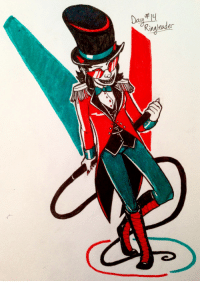 Target, Tumblr, and Blog: Ringleader seaside-cave:  Costume Inktober Day 14: Ringleader TereziPrompt List