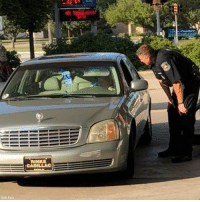 A viral Facebook post shows how a police officer helped out an elderly woman in a big way, during an encounter at a gas station on Friday. The officer pumped the woman's gas and then paid for it.: RINKE  CADILLAC  Seth Kazz A viral Facebook post shows how a police officer helped out an elderly woman in a big way, during an encounter at a gas station on Friday. The officer pumped the woman's gas and then paid for it.
