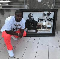 """Love, Memes, and Shabba: RIO  ASAP """"When Hard work Pays off New level Gold , shabba Gold and Work Platinum !!! I came along way and have a even longer ways to go !!! Thank y'all for all the love and support!"""" 👏💯 @asapferg WSHH"""