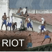 """Memes, Riot, and Wshh: RIOT Repost: @BBCNews- """"16 JAN: At least 26 people have died during a 14-hour riot in a Brazilian prison, police said. On Saturday afternoon, violence erupted between members of rival gangs at Alcacuz prison, starting a riot which lasted until a dawn raid the following day. Prison officials said some of the victims had been decapitated in what is the third major riot in Brazil this year - nearly 100 inmates died in riots earlier this month in prisons in the states of Amazonas and Roraima."""" 🇧🇷 WSHH"""