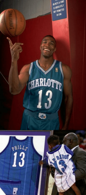 RIP Bobby Phills. He died in a car accident in 2000 and was the first Hornet to have his jersey retired.   It was taken down when the team moved to New Orleans and re-hung in 2014 when MJ was the majority owner. https://t.co/Qdd96Dee5Q https://t.co/kzNZdMmj8A: RIP Bobby Phills. He died in a car accident in 2000 and was the first Hornet to have his jersey retired.   It was taken down when the team moved to New Orleans and re-hung in 2014 when MJ was the majority owner. https://t.co/Qdd96Dee5Q https://t.co/kzNZdMmj8A