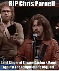Rip Chris Parnell Lead Singer Of Savage Garden 8 Rage Against The