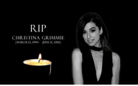RT @Ruby_RoseC: my heart is broken. she was only 22. The world can be such a cruel place. RIPChristinaGrimmie 💔😔😢: RIP  CHRISTINA GRIMMIE  [MARCH 12, 1994 JUNE ll, 2016] RT @Ruby_RoseC: my heart is broken. she was only 22. The world can be such a cruel place. RIPChristinaGrimmie 💔😔😢