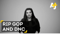 Don't blame demographics on the outcome of this election – blame the parties.: RIP GOP  AND DNC Don't blame demographics on the outcome of this election – blame the parties.