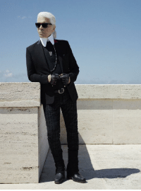 Legend, Icon, and Karl Lagerfeld