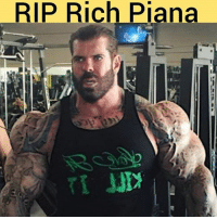 Memes, Bodybuilding, and World: RIP Rich Piana Bodybuilder Rich Piana has reportedly passed away. RIP 🙏 sad day for the fitness world 🙁😭 richpiana bodybuilding bodybuilding