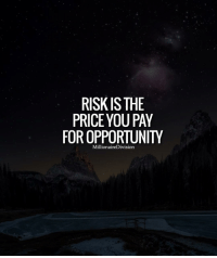 Memes, Opportunity, and 🤖: RISK IS THE  PRICE YOU PAY  FOR OPPORTUNITY  Millionaire Division Risk is the price you pay for opportunity. Like and tag a friend below