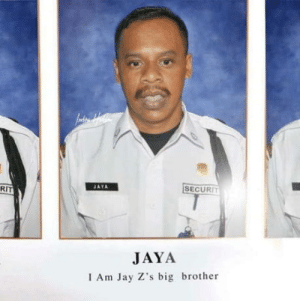 Jay Zs brother from Indonesia: RIT  İSECURIT  JAYA  I Am Jay Z's big brother Jay Zs brother from Indonesia
