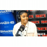 Memes, Radio, and 🤖: riusxm  UNIVERSE  ATELLITE RADIO  ERSEUNIVERSE  AYS SHAY  ERSE--UNIVER  ONLY ON  HAYS  SiriusX  UNIVERSE-  SATELLITE RADIO  MAYS-  V E GabrielleUnion talks masturbating at the age of 5, reciprocity, and eating a$$ (via @swaysuniverse) (swipe)