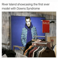 I love this due to having a cousin with Down syndrome.: River Island showcasing the first ever  model with Downs Syndrome  SALE I love this due to having a cousin with Down syndrome.