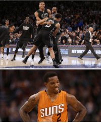 Memes, Eric Bledsoe, and 🤖: RO  ESTATE   SUInS What do you think of this Bucks line-up: Eric Bledsoe, Brogdon, Middleton, Antetokounmpo & Maker? https://t.co/OdHFFkOZAK