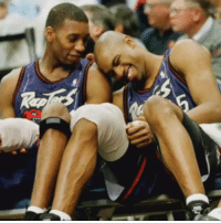 RT @SixSecPlays: Tracy McGrady and Vince Carter on the Raptors 🏀: Ro RT @SixSecPlays: Tracy McGrady and Vince Carter on the Raptors 🏀