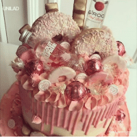 Dank, Life, and Omg: RO  UNILAD  ware.c OMG, I need this pink vodka donut cake in my life ASAP! 😍😍